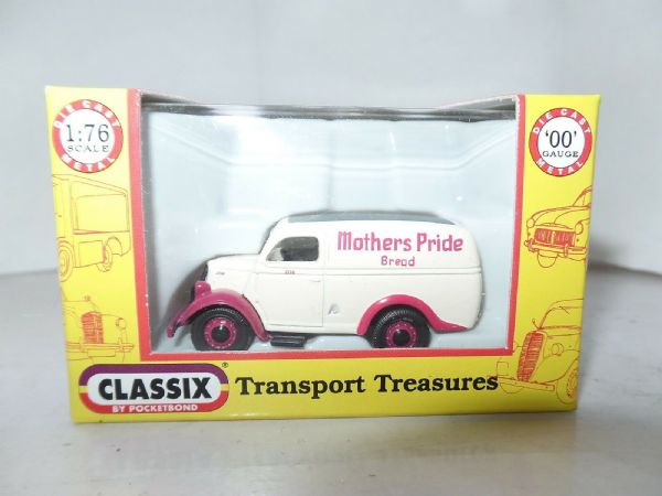 Classix EM76619 1/76 OO Scale Ford Thames Estate E83W Mothers Pride Bread